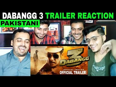 Pakistani Reaction on | Dabangg 3: Official Trailer | Salman Khan | Sonakshi Sinha | Prabhu Deva