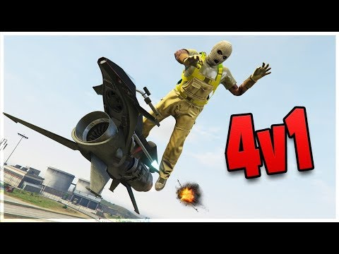 Teaching Oppressor Tryhard Chumps a Lesson (GTA 5 Funny Moments)