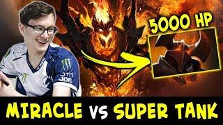 Miracle vs super TANK Chaos Knight — 5000 HP won