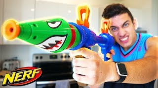 NERF FORTNITE ROCKET LAUNCHER IN REAL LIFE!