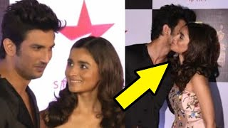 Alia Bhatt HUGS Sushant Singh Rajput At Star Screen Awards | Throwback
