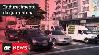 Protestos de comerciantes contra a ampliação de restrições a bares e restaurantes pelo Plano SP