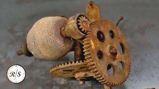 Восстановление кривошипно-шатунной шлифовальной машины