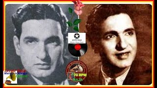 HUSN BANO & Surendra-Film-JAWANI-(1942)-Badnam Na