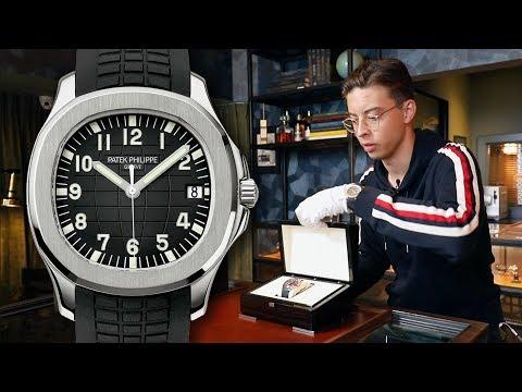 Unboxing & Review Patek Philippe Aquanaut 5167A-001