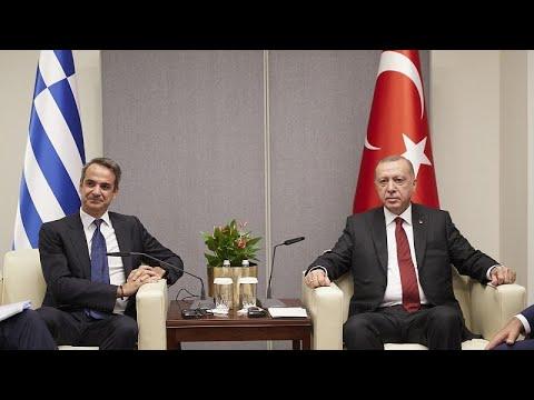Ολοκληρώθηκε η συνάντηση Μητσοτάκη – Ερντογάν