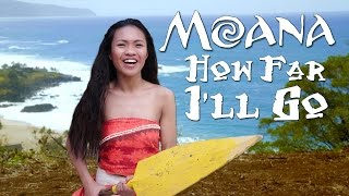 "Disney's Moana - How Far I'll Go - Official ""In Real Life"" music video from the movie 