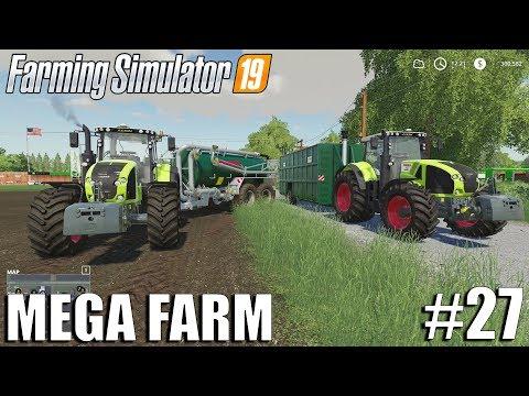 MEGA FARM Challenge | Timelapse #27 | Farming Simulator 19