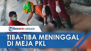 Tukang Parkir yang Tiba-tiba Meninggal di Meja PKL Gegerkan Warga Dekat JPO Pasar Bulu Semarang