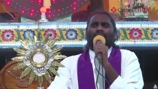 """Ten Commandments"" Rev.Fr.Jayaraju ALCP/OSS@Kanukamatha Church,Rentachintala,Guntur,AP,5-3-16,Part 1"