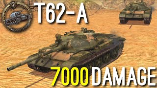 World Of Tanks Blitz || T62-A - 7,000 Damage