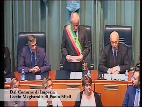 LECTIO MAGISTRALIS DI PAOLO MIELI A IMPERIA