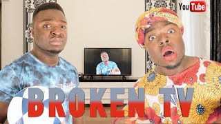AFRICAN HOME: BROKEN TV