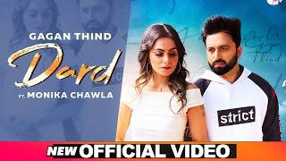Dard (Official Video)   Gagan Thind Ft Monika Chawla   Latest Punjabi Song 2020   Speed Records