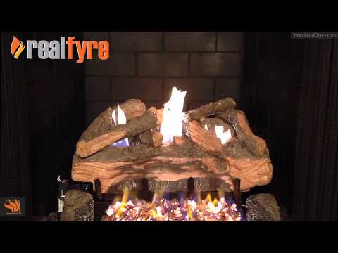Evening Fyre Split Ventless Gas Log Set