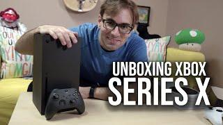 XBOX SERIES X - Unboxing do Console MAIS Poderoso da Nova Geração!