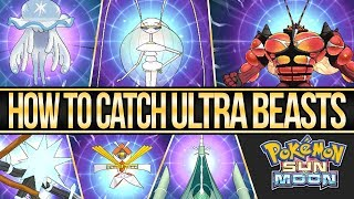 Guzzlord  - (Pokémon) - How to Catch All of The Ultra Beasts in Pokemon Sun and Moon | Austin John Plays