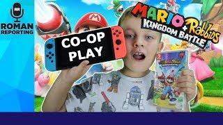 Mario + Rabbids Kingdom Battle - live  Co-op game play