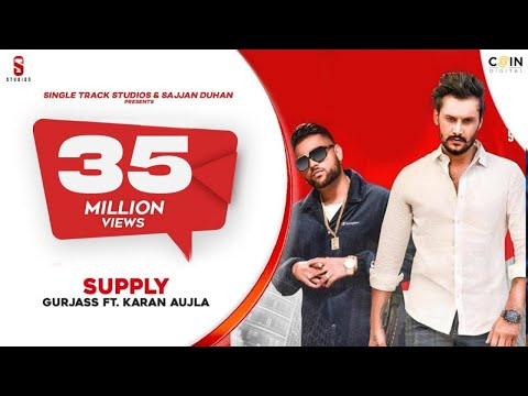SUPPLY | Karan Aujla | Gurjas Sidhu| Deep Jandu | Latest Songs | ST Studio | Ditto Music