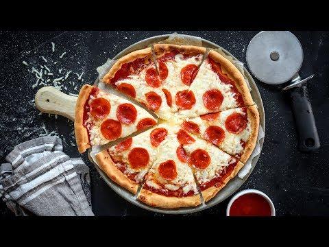 KETO Pizza in 10 MINUTES   The BEST KETO Pizza Recipe   BETTER Than Fat Head Pizza Crust!
