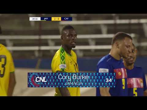 Ямайка - Cayman Islands 4:0. Видеообзор матча 10.09.2018. Видео голов и опасных моментов игры
