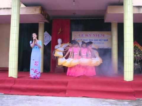 Tiết mục đạt giải Nhất Hội thi văn nghệ chào mừng 30 năm Ngày Nhà Giáo Việt Nam