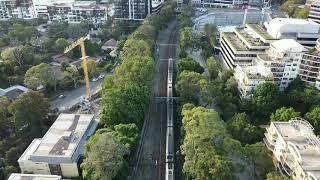 I CHASED a TRAIN with my Mavic MINI - Cinematic FPV