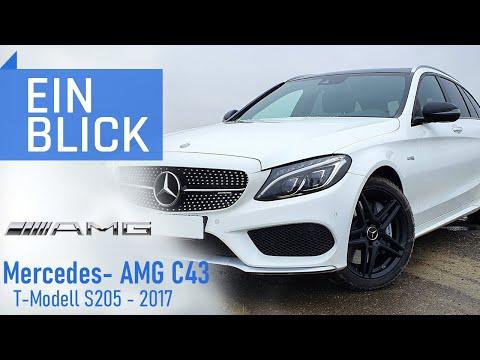 Mercedes-AMG C43 T-Modell S205 2017 - Echter AMG oder Etikettenschwindel?