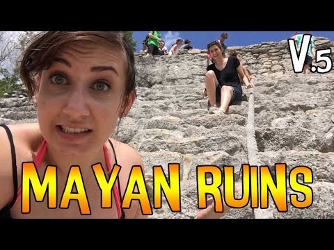 Climbing on Mayan Ruins (Coba, Mexico) – VEDA 2016