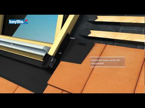 Keylite Plain Tile Roof Flashing Installation (PTRF)