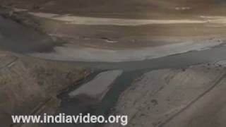 Zanskar River meets the Indus