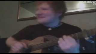 Ed Sheeran - You Need Me, I don't Need You (live from ustream)
