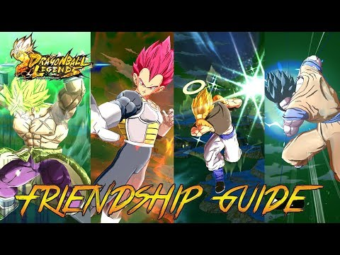 How To MAX Friendship For All Characters | Dragonball Legends