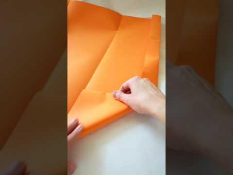Tutorial cartella in origami