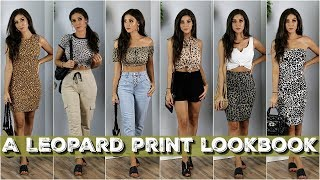 A LEOPARD LOOKBOOK   How To Style Leopard Prints!
