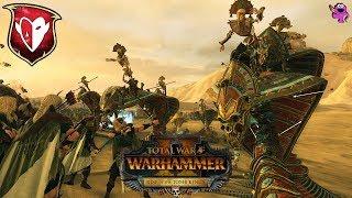Tomb Kings vs  Dark Elves - Mortal Empires Multiplayer