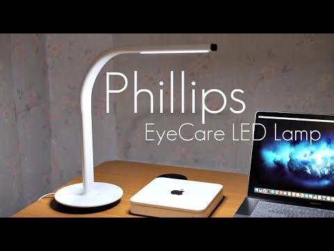 Smart LED Desk Lamp! – Phillips EyeCare LED Desk Lamp – Review / Demo