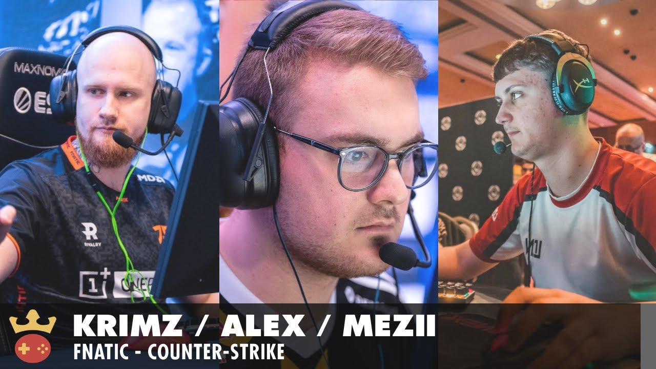 Video of Interview with ALEX, mezii, and KRIMZ from Fnatic at ESL Pro League Season 14