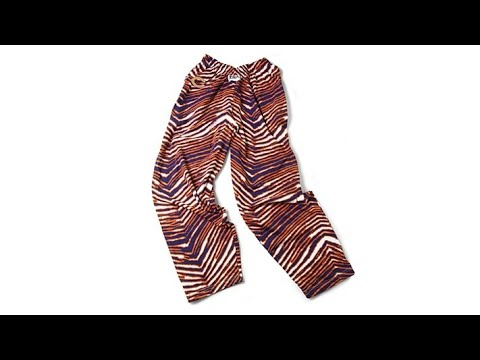 NFL Zubaz ZebraPrint Drawstring Pants  Cowboys
