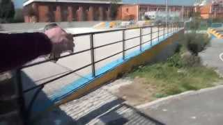 preview picture of video 'Guidonia Montecelio Comune Elezioni 2014 - Skate Park ColleFiorito'