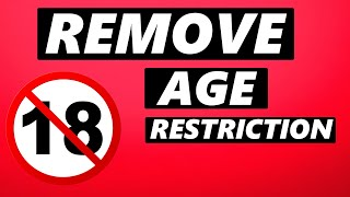 How to Remove Age Restrictions on Youtube on Phone (2021)