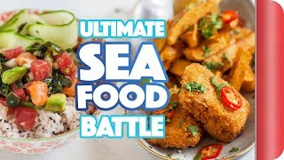 THE ULTIMATE SEAFOOD BATTLE