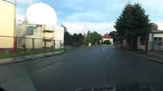 preview picture of video 'Grenzübergang Großschönau (D) - Varnsdorf (CZ) Border Crossing'