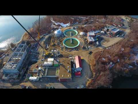 1 16 2018   Aerial Video Peirce Island Wastewater Treatment Facility