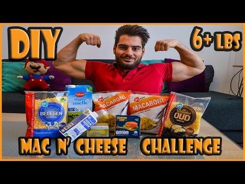 DIY Mac N' Cheese Challenge   2.8KG Food Challenge   I Need to Practise more!
