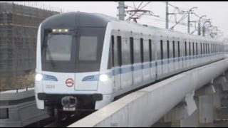 preview picture of video '[Shanghai Metro007]Line8 AC07 Train 上海地下鉄8号線AC07・AC13'