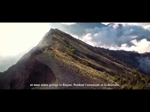Bersepeda di Gunung Rinjani