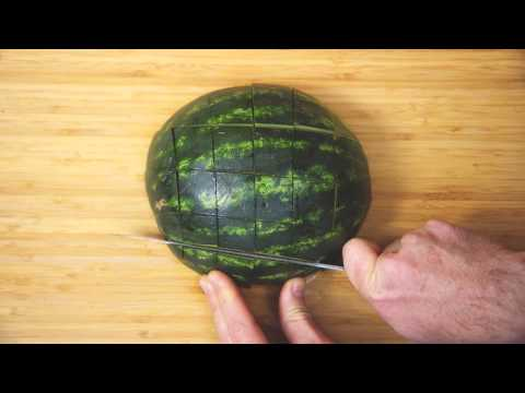 Turn A Watermelon Into Finger Food And Avoid Quick Oxidation