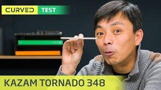 Kazam Tornado 348 im Test: Dünner geht es nicht mehr   deutsch