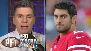 PFT Props: Will Jimmy Garoppolo or Carson Wentz play more in '19? | Pro Football Talk | NBC Sports